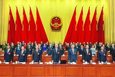 鲍秀英蔡奇_北京市十五届人大一次会议胜利闭幕 蔡奇主持并讲话