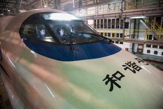 CHINA-HEFEI-SPRING FESTIVAL-BULLET TRAIN-MAINTENANCE (CN)