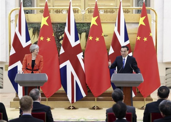 CHINA-BEIJING-LI KEQIANG-BRITISH PM-DIALOGUE (CN)