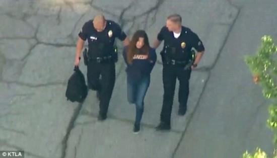 美国洛杉矶一中学突发枪击案 12岁女生被警方逮捕