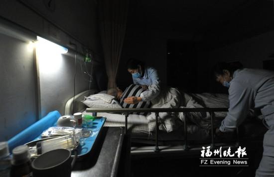 福州:老年公寓护理员的大夜班