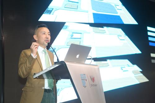 DXD总顾问、总设计师施路远发布城外诚DXD设计互联中心二期规划