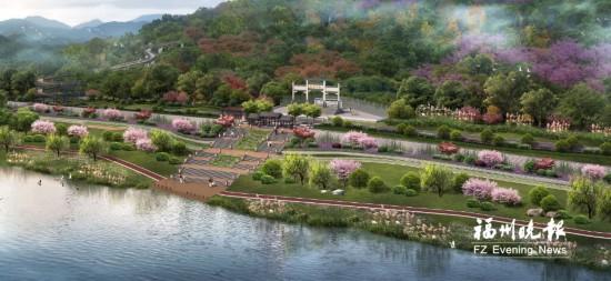 福州永泰小汤山生态公园春节前迎客 大樟溪畔看山看水看文化