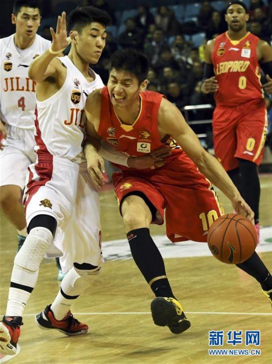 (体育)(6)篮球――CBA常规赛:深圳马可波罗胜吉林九台农商银行