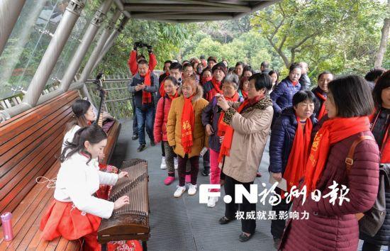 鼓楼区2018新春旅游月正式启动 游客市民齐点赞