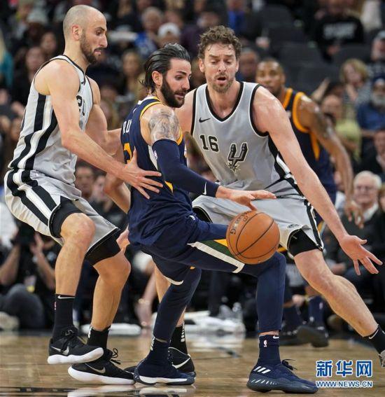 (体育)(1)篮球――NBA常规赛:马刺不敌爵士
