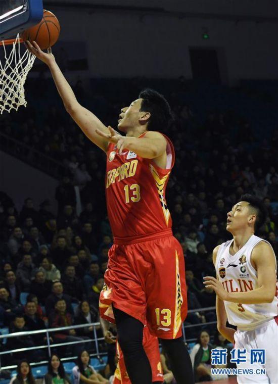 (体育)(2)篮球――CBA常规赛:深圳马可波罗胜吉林九台农商银行