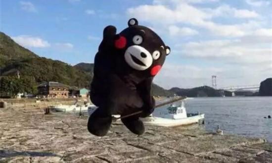 日本卡通形象熊本熊版权新规正式实施