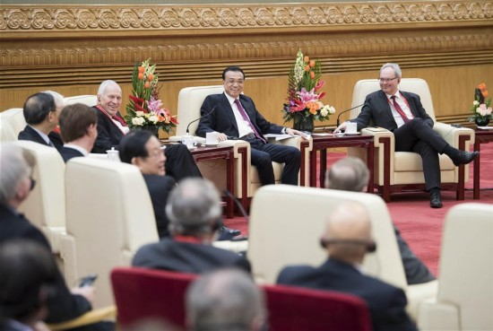 CHINA-BEIJING-LI KEQIANG-FOREIGN EXPERTS-DISCUSSION (CN)