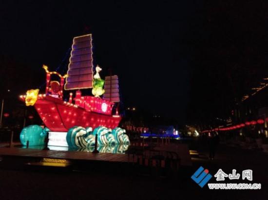 镇江西津渡新春游园灯会亮灯 将持续至3月5日