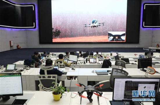 (科技)(3)中国无人驾驶飞行器载客试飞