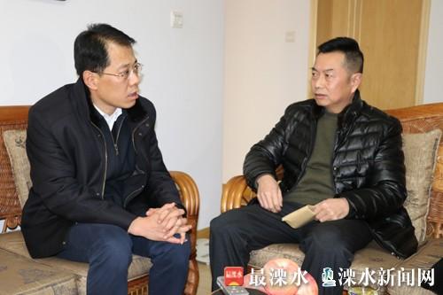 南京溧水区委书记区长等分组开展春节慰问活动