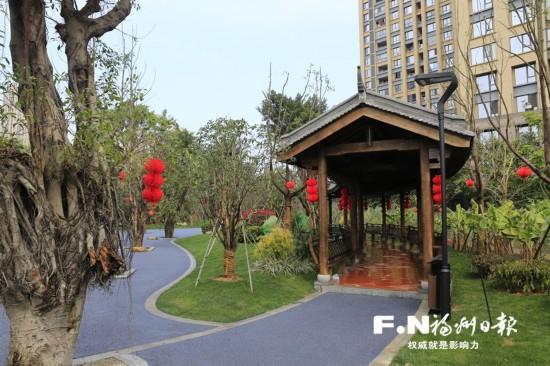 福州第二批42个串珠公园基本完成 春节前陆续开放