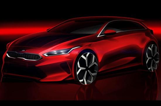 新一代起亚Ceed设计图公布 将亮相日内瓦车展