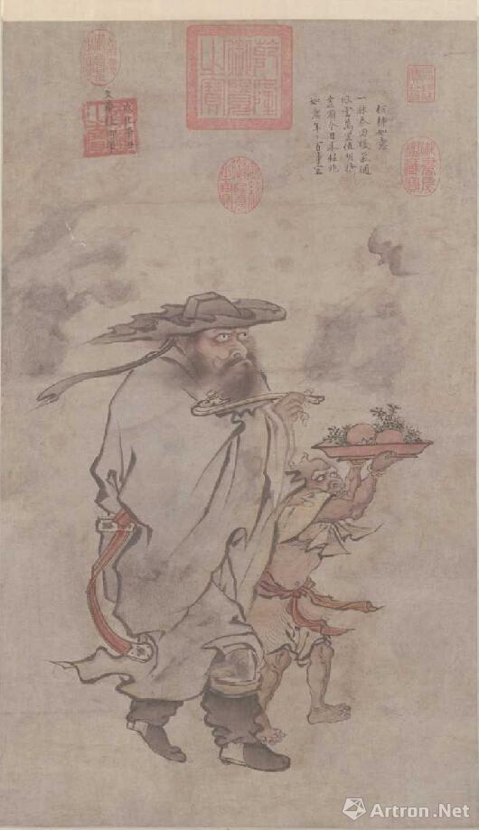 明宪宗 朱见深 《岁朝佳兆图》 1481年