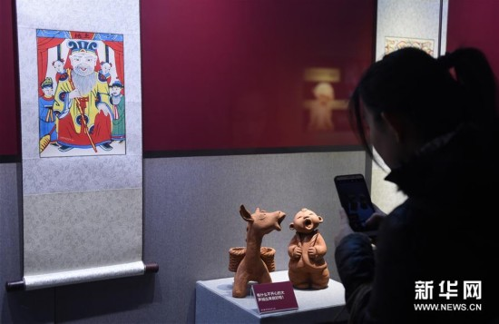 北京正阳门城楼举办京津冀系列民俗文化展