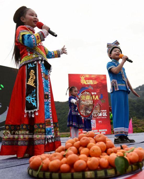 环江举办橘柑节 欢歌庆丰收