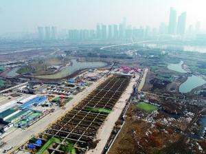 南京长江五桥年后隧道盾构施工 未来不设收费站