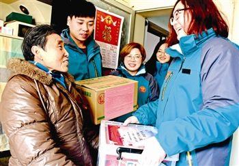 泰州:1200户困难家庭喜获年货大礼包