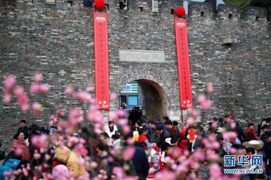 巨幅春联迎新春
