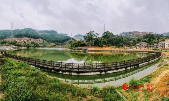 仙游县乌石村美景。  程征 摄