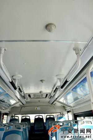 银川230辆公交车内安装喷淋系统 7秒内可将火全部熄灭
