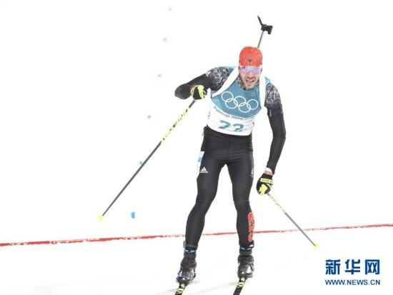 (冬奥会)(1)冬季两项――男子10公里短距离:德国选手派弗夺冠