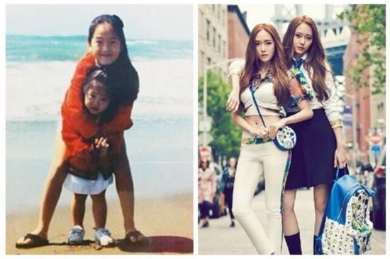 Jessica和妹妹Krystal