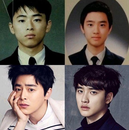 ��政�]和EXO成员D.O.