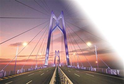 港珠澳大桥落差近百米 如在平地飞