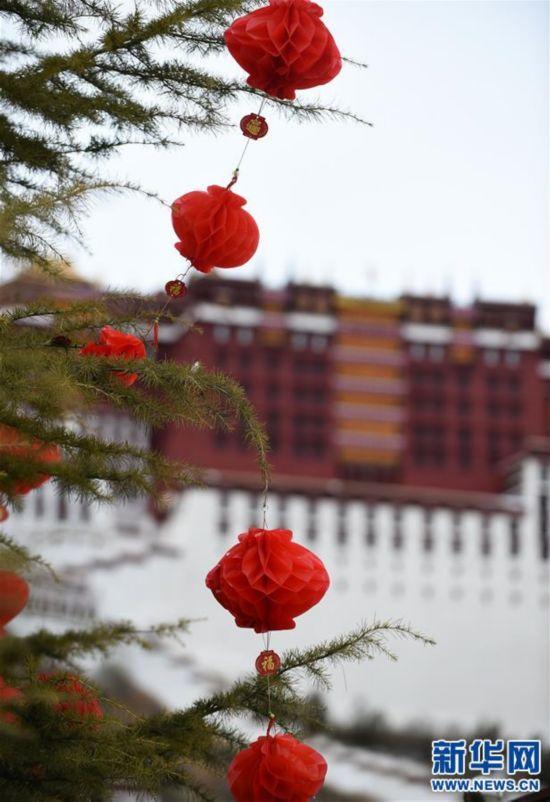 (社会)(3)布达拉宫广场盛装迎接新年