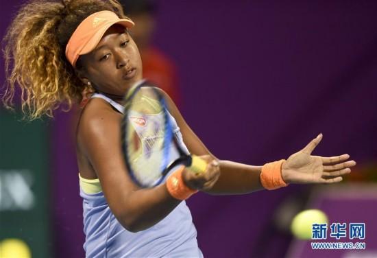 (体育)(1)网球――WTA卡塔尔公开赛:大阪直美晋级