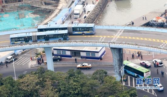 厦门BRT可通过多种形式扫码乘车