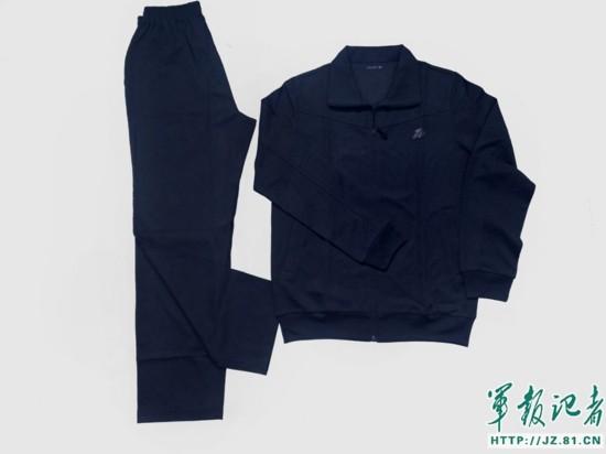 全军将陆续配发17长袖体能训练服等新品种