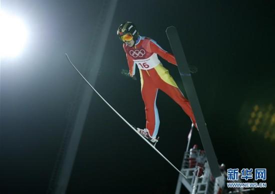 (冬奥会)(5)跳台滑雪――女子标准台:常馨月排名第20