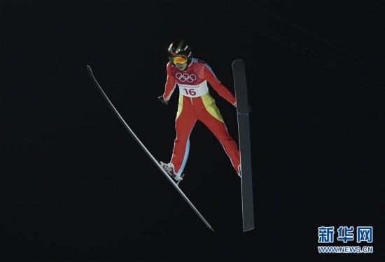 (冬奥会)(4)跳台滑雪――女子标准台:常馨月排名第20