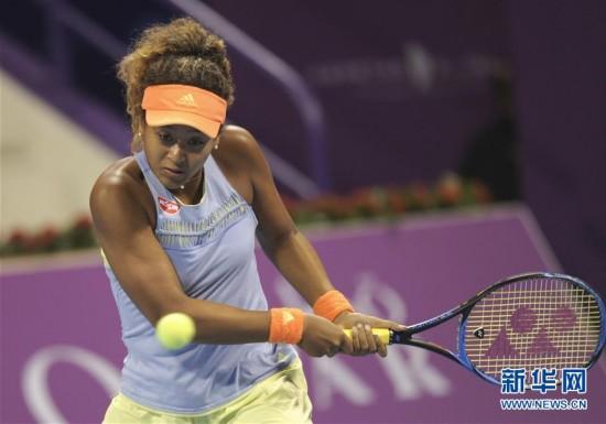 (体育)(3)网球――WTA卡塔尔公开赛:大阪直美晋级