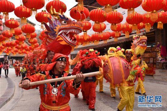 #(社会)(2)红红火火迎新春