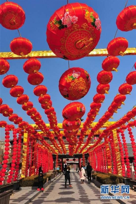 #(社会)(3)红红火火迎新春
