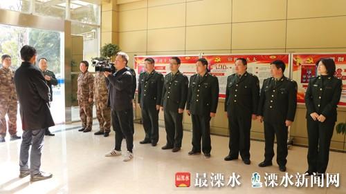 南京溧水区委书记谢元走访慰问人武部官兵