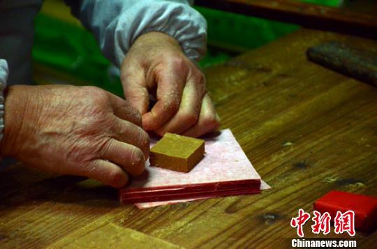 """顶市酥:红纸包着的""""徽州年味"""""""