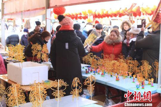 第39届沈阳皇寺庙会:品百年民俗寻传统年味