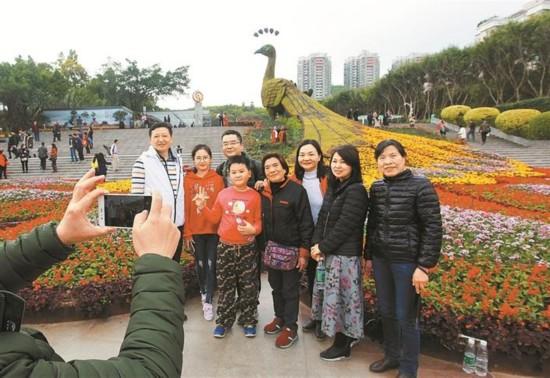 深圳各大景区靓丽迎客