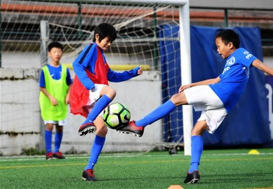 中国足球小将巴塞罗那过大年