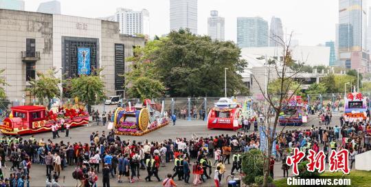 广州春节花车大巡游:浓浓的广府味与时代情