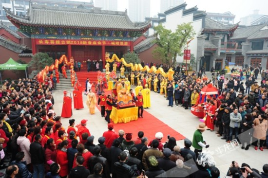 春节你去逛古镇木有?磁器口4天迎客20多万人次