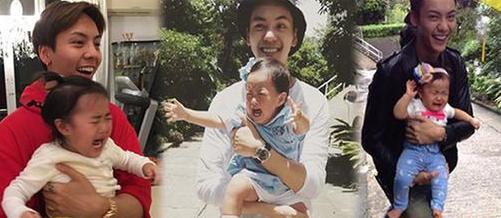 盘点娱乐圈男明星抱孩子的方式,陈伟霆和王大陆的简直没眼看