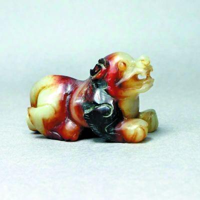 自古至今,高贵的玉器中不乏狗的形象