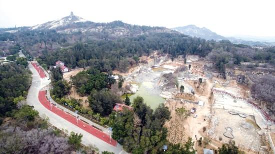 石狮宝盖山石窟公园新貌初显