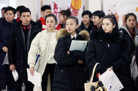 """中国传媒大学""""艺考""""举行"""